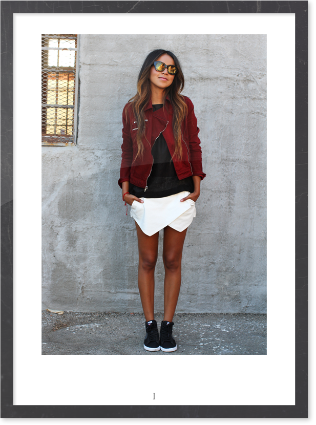 White Skort - Wowtfit - Sincerely Jules