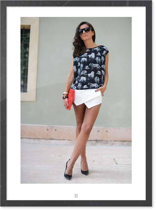 White Skort - Wowtfit - Lovely Pepa